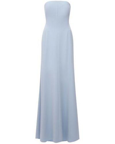 Синее платье с подкладкой Jenny Packham