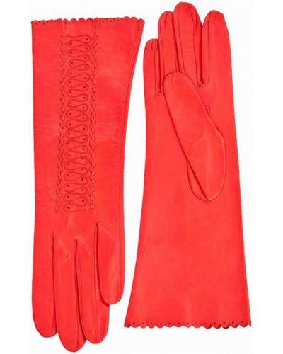 Красные кожаные перчатки Alpa Gloves