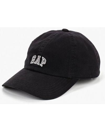 Черная бейсболка Gap