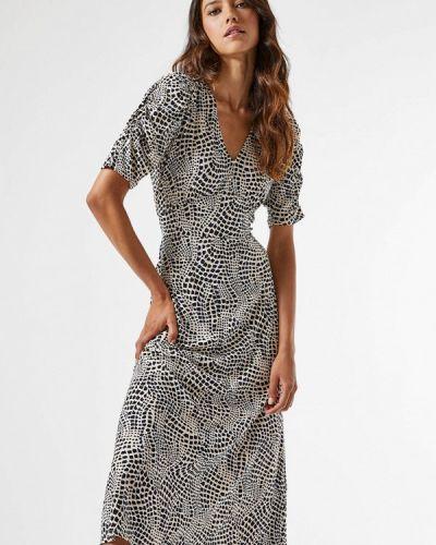 Прямое бежевое платье Dorothy Perkins