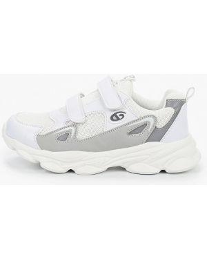 Белые кроссовки из искусственной кожи Tom-miki