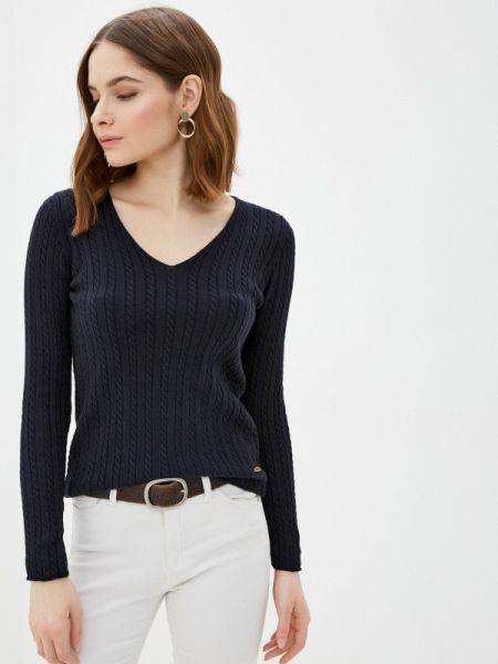 Синий пуловер Jimmy Sanders