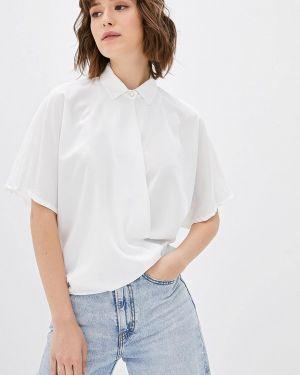 Блузка с коротким рукавом белая итальянский Camomilla Italia