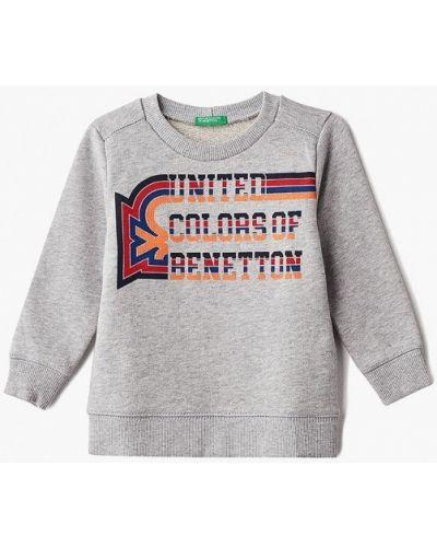 Серый свитшот United Colors Of Benetton