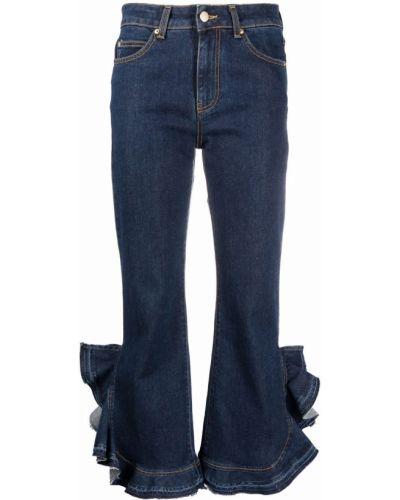 Хлопковые синие джинсы Lautre Chose
