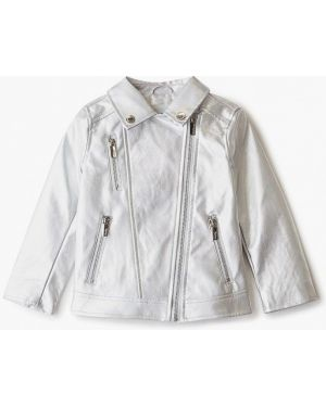 Куртка серебряный кожаная Acoola