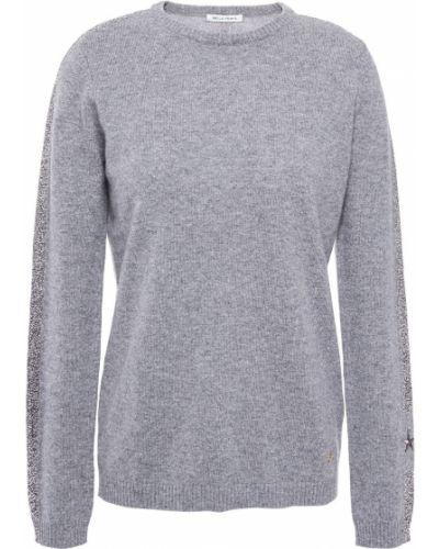 Серый кашемировый вязаный свитер Bella Freud