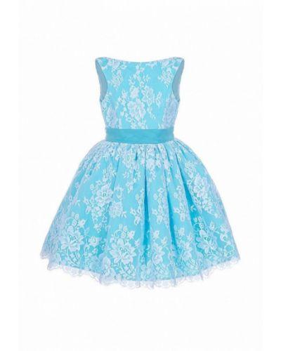 Платье на торжество бирюзовый Love Story