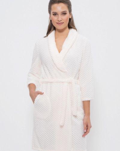 Домашний халат - белый Cleo