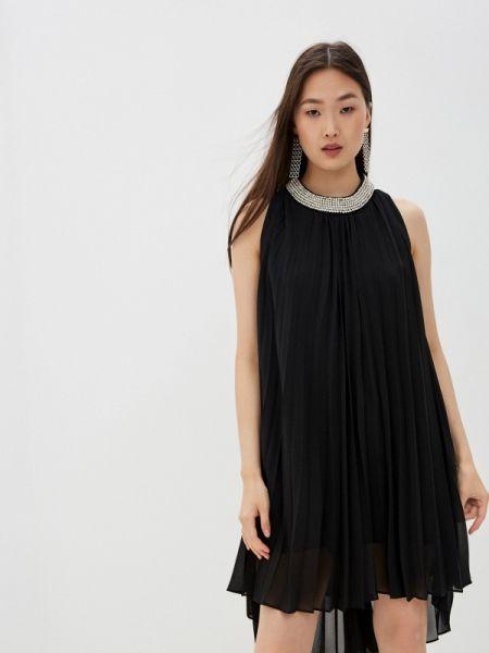 Черное вечернее платье John Richmond