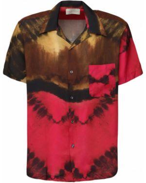 Koszula krótkie z krótkim rękawem klasyczna na kręgle Paura By Danilo Paura