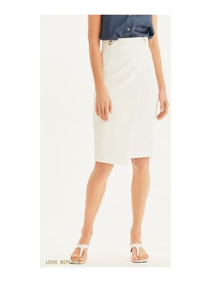 Облегающая прямая юбка карандаш с поясом Love Republic
