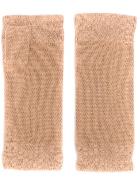 Prążkowane z kaszmiru rękawiczki bez palców N.peal