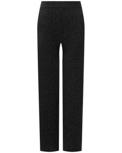 Шерстяные брюки - серые Allude