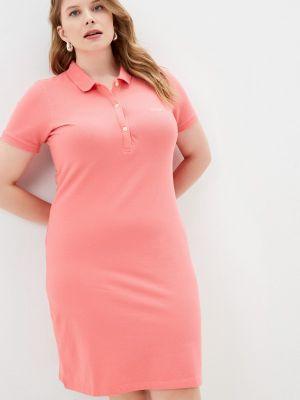Розовое платье Galvanni