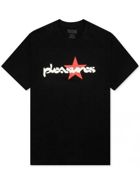 Czarna t-shirt Pleasures