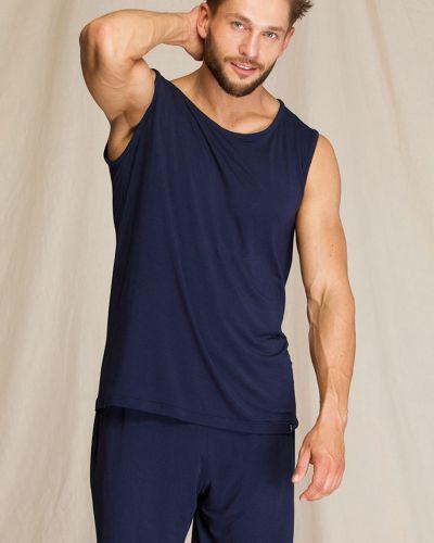 Синяя пижамная домашняя пижама с шортами Key