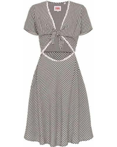 Платье в полоску в клетку Solid & Striped