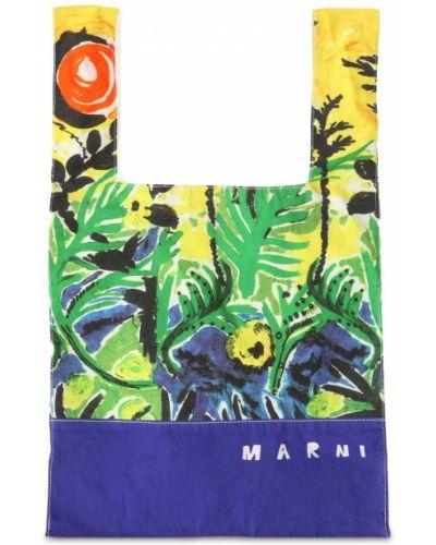 Bawełna bawełna torba kosmetyczna Marni Junior