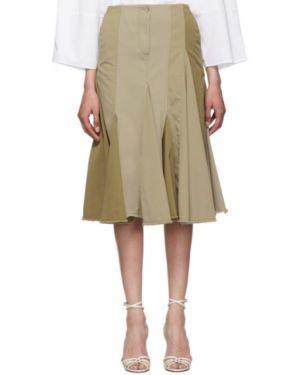 Плиссированная юбка асимметричная пачка Lanvin