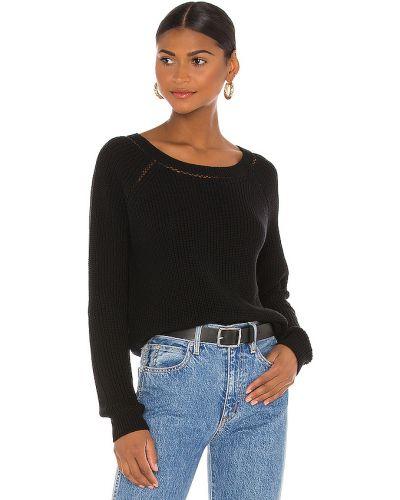 Miejski czarny bawełna włókienniczy sweter 27 Miles Malibu
