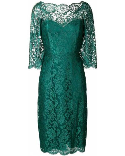 Приталенное ажурное платье миди на молнии Rhea Costa
