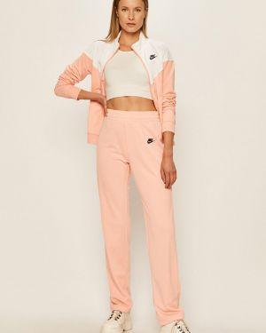 Różowy dres dzianinowy Nike Sportswear