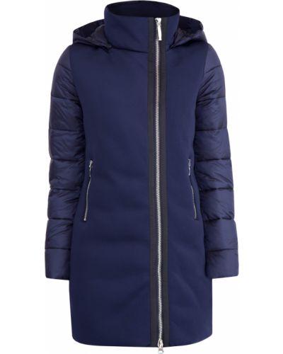 Куртка с капюшоном утепленная длинная Cudgi