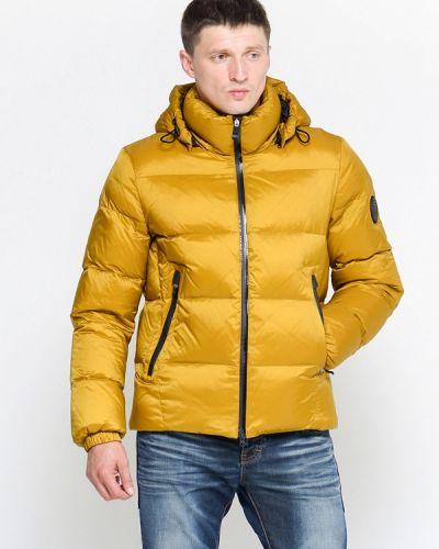 Пуховик - желтый Clasna