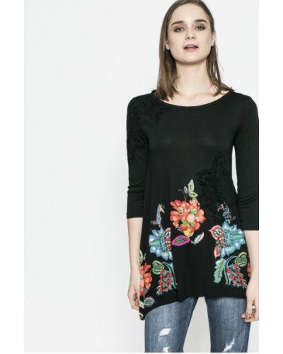 Черная блузка Desigual