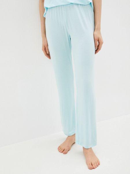 Весенние домашние бирюзовые брюки Дефиле
