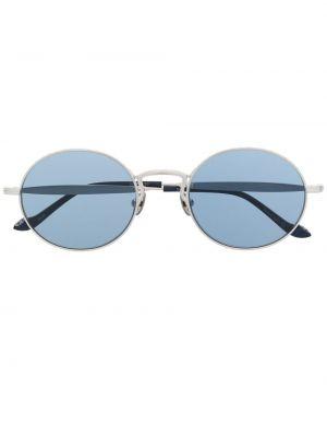 Niebieskie okulary skorzane Matsuda