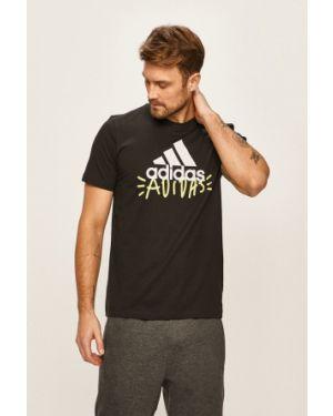 Koszula z wzorem wełniany Adidas Performance