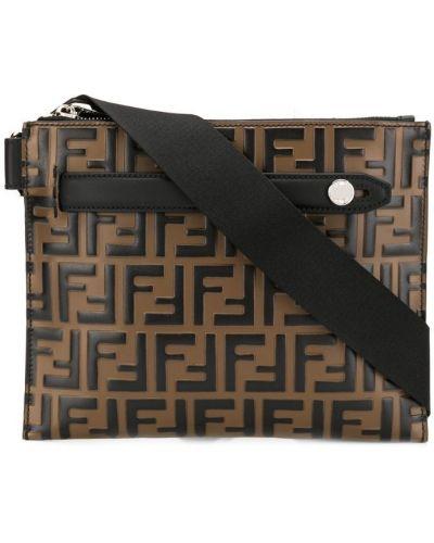 Поясная сумка на молнии с логотипом Fendi