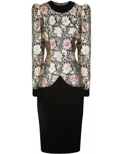 Платье винтажная с цветочным принтом Jessica Mcclintock