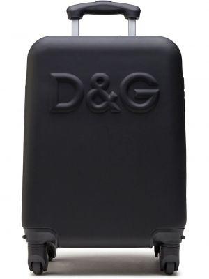 Черный портфель Dolce & Gabbana Kids