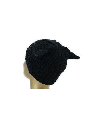 Черная шапка Karl Lagerfeld
