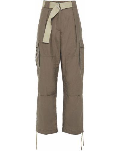 Spodnie bawełniane z paskiem Rag & Bone