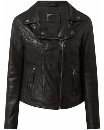 Czarna kurtka asymetryczna Oakwood