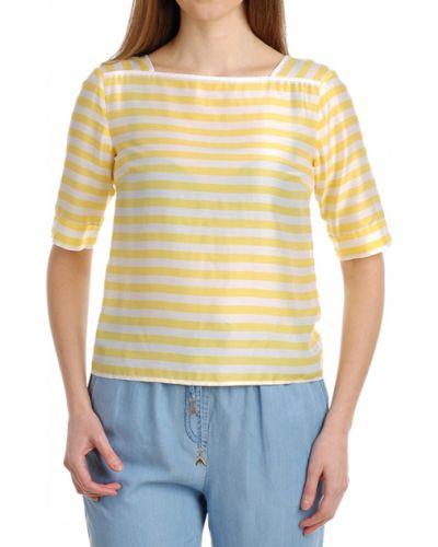 Желтая блузка Patrizia Pepe