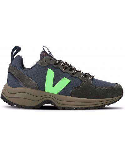 Массивные кроссовки - синие Veja