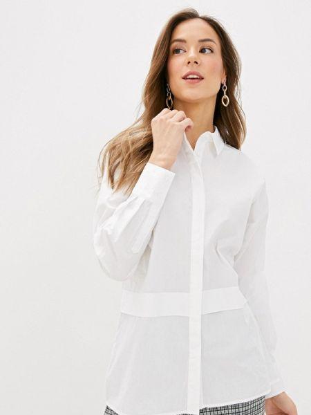Блузка с длинным рукавом белая весенний Sela