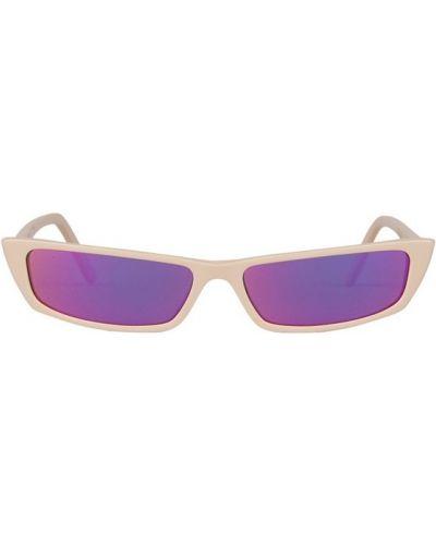 Okulary - różowe Acne Studios