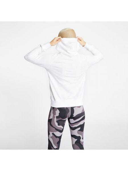 Biały pulower New Balance