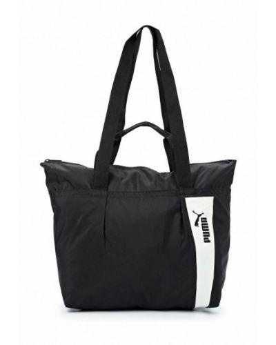 Черная спортивная сумка Puma