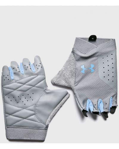 Серые перчатки Under Armour