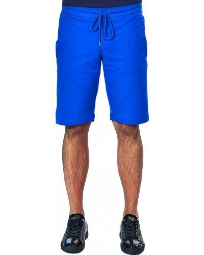 Шорты хлопковые голубой Bikkembergs