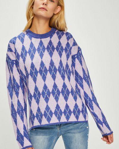Вязаный свитер в полоску с узором Trendyol