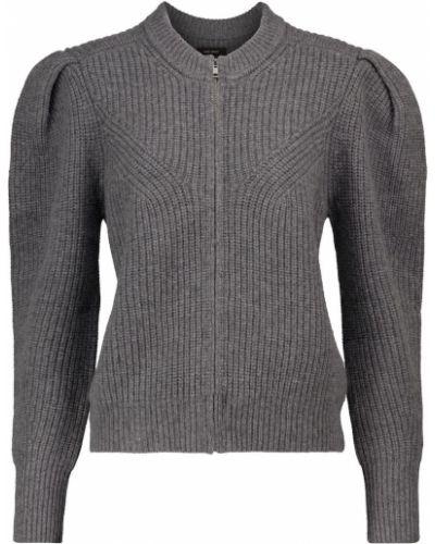 Серый кашемировый свитер Isabel Marant