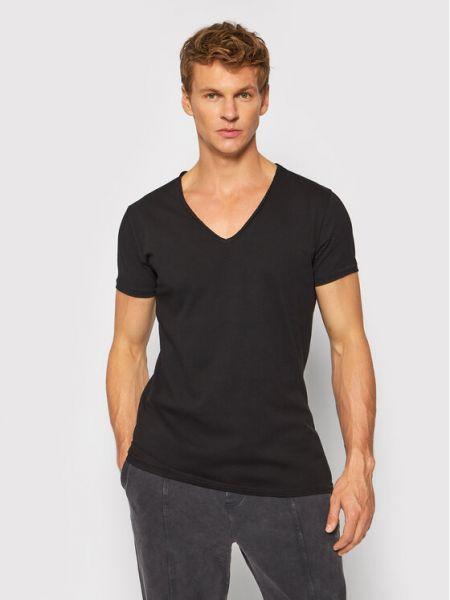 Czarna t-shirt Tigha